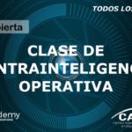 Clase Abierta de Contrainteligencia Operativa