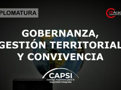 Gobernanza, gestión territorial y convivencia